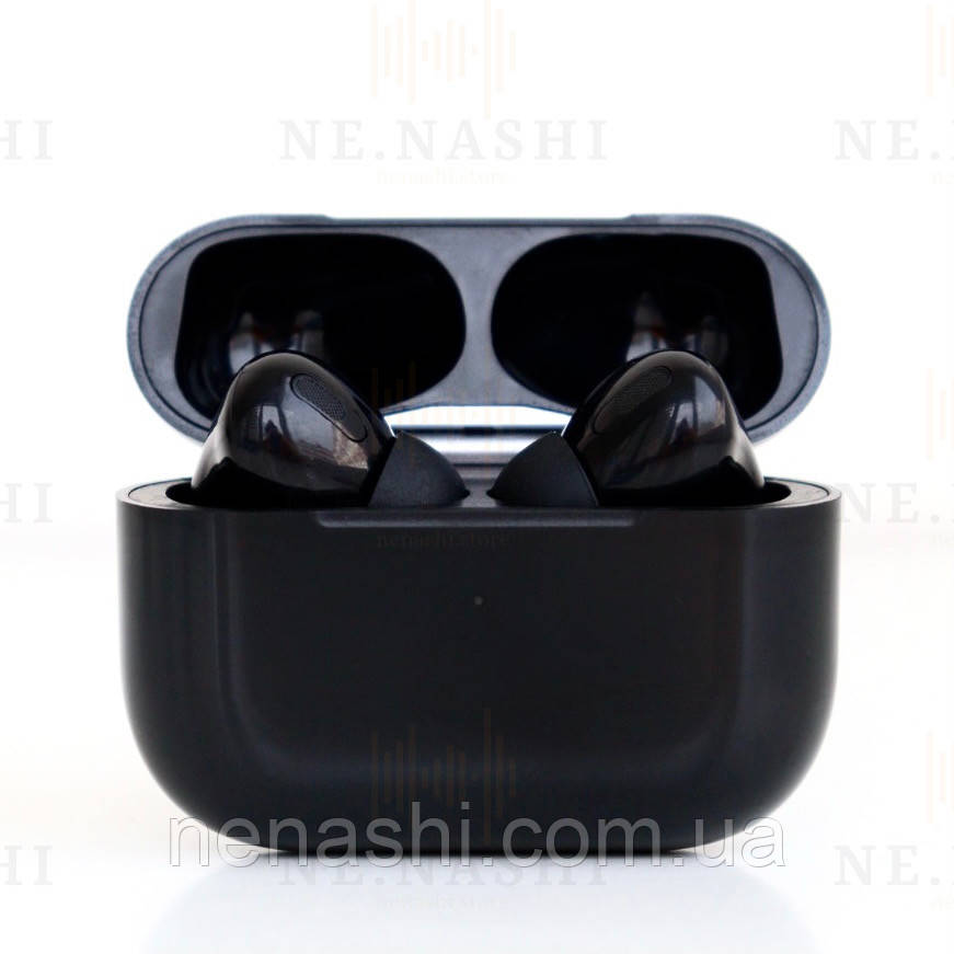 Наушники беспроводные в дизайне AirPods Pro, Macaron pro Air 3 Pro 1:1. Черные.