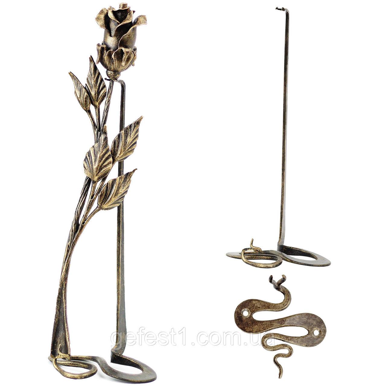Роза из металла, кованые розы