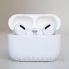 Навушники безпровідні в дизайні AirPods Pro, Macaron pro Air 3 Pro 1:1. Білі.