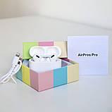 Навушники безпровідні в дизайні AirPods Pro, Macaron pro Air 3 Pro 1:1. Білі., фото 2