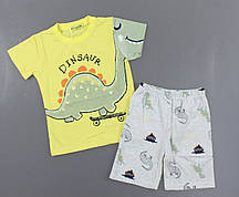 {есть:3 года 98 СМ} Пижама для мальчиков Setty Koop,  Артикул: PJM109-жёлтый [3 года 98 СМ]