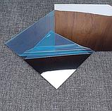 Акрилове дзеркало 15×15 см × 0.2 мм срібло 1 шт, фото 8