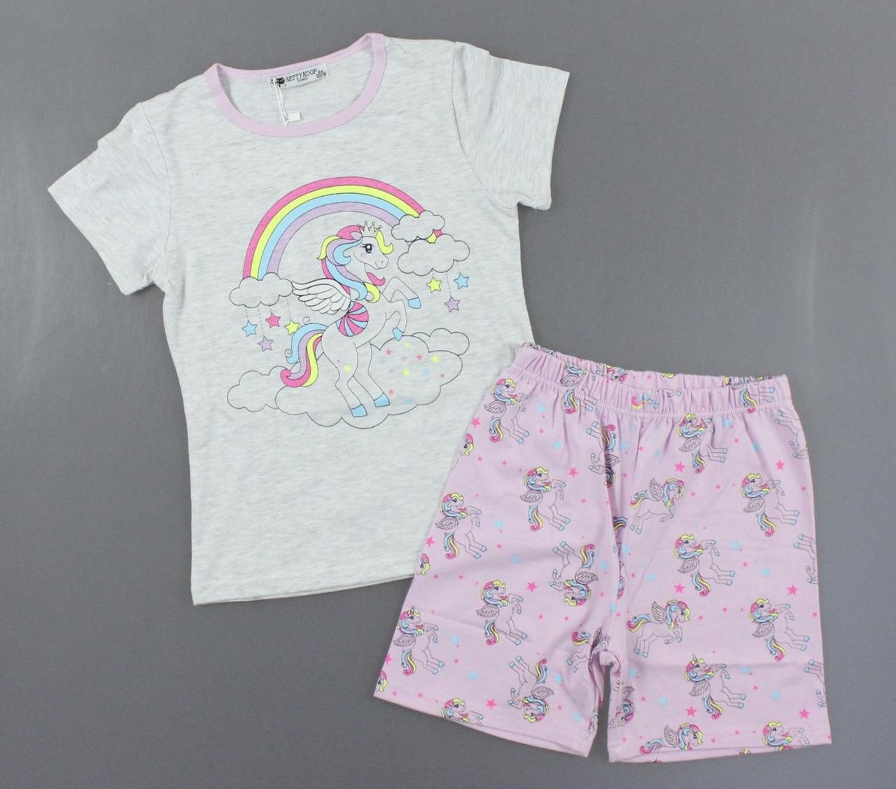 Піжама для дівчаток Setty Koop, 8-16 років. Артикул: PJM115-сірий [10 років] 12 років