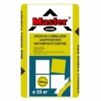 Клей для плитки MASTER STANDARD (серый), 25 кг