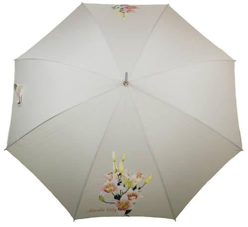 Красивый зонт-трость женский полуавтомат AIRTON (АЭРТОН) Z1621-10