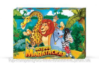 Настільна гра Danko toys Мадагаскар український