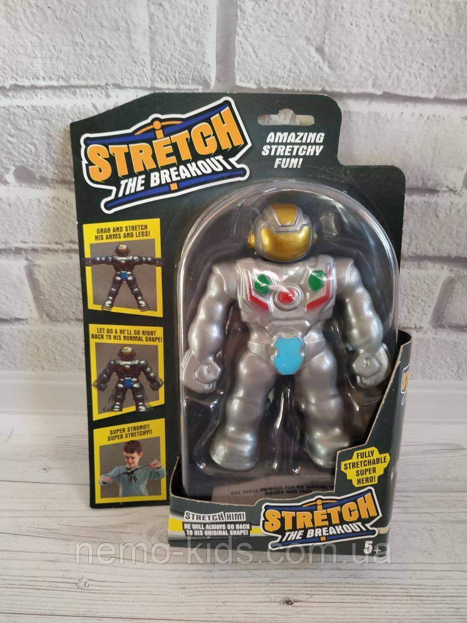Интересная детская Игрушка-тянучка, стрейчевый человечек, робот, обезьяна.