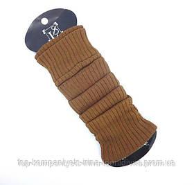 Гетри жіночі ТОП-ТАП трикотажні класичні коричневі (Р-101)