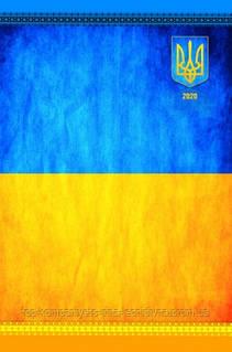 """Датований щоденник 2021 АРКУШ АРТ """"Синьо-жовтий"""", лінія"""