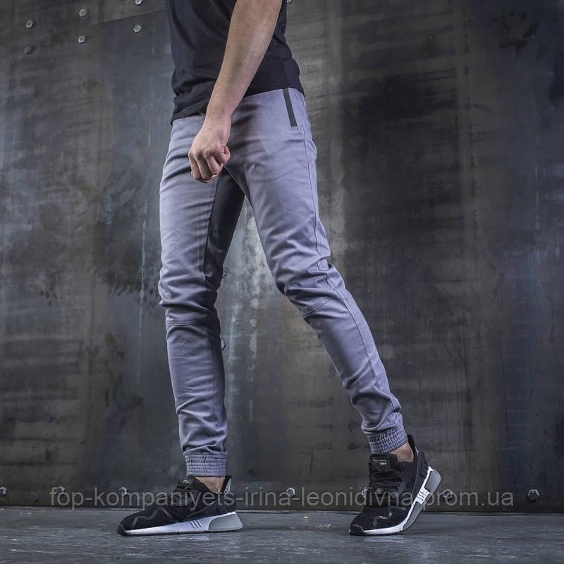 Джоггеры мужские BEZET Casual  серые  XL