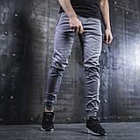 Джоггеры мужские BEZET Casual  серые  XL, фото 2