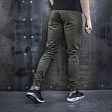 Джоггеры чоловічі BEZET Casual хакі XL, фото 3