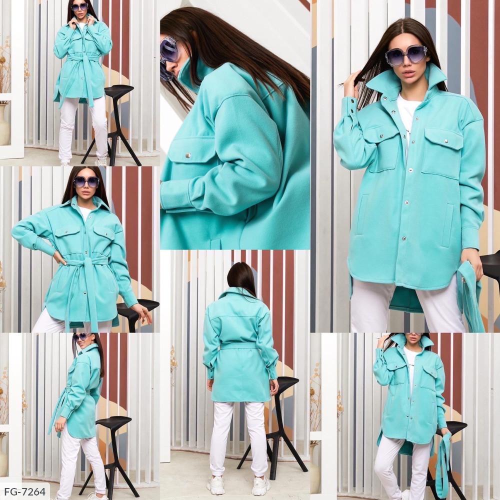 Пальто-Рубашка FG-7264