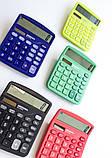 Калькулятор электронный ASSISTANT 12-разрядный желтый (AC-2312), фото 2