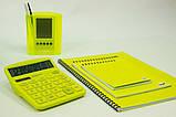 Калькулятор электронный ASSISTANT 12-разрядный желтый (AC-2312), фото 3