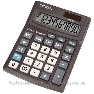 Калькулятор электронный CITIZEN 10-разрядный малый (СMB 1001-BK)