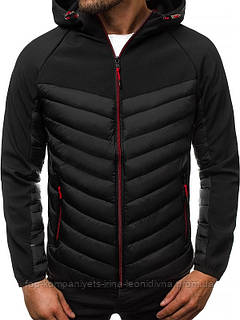 Куртка чоловіча J. STYLE чорна XL