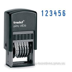 Мининумератор TRODAT 3,8 мм, 6 розрядів