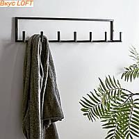 Вешалка лофт 60х8х15 см Master Skif. Вешалка лофт для одежды настенная. Вешалка для верхней одежды настенная