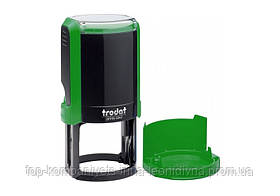 Оснастка TRODAT для круглих печаток з ковпачком D42мм зелена (4642)