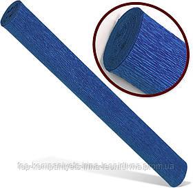Папір гофрований INTERDRUK PREMIUM, (200*50) 160мк, синя №115 (10шт/уп)