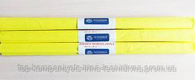 Папір крепований INTERDRUK (50см*200см), лимонний №03 (10 шт/уп)