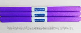 Папір крепований INTERDRUK (50см*200см), пурпурний №13 (10шт/уп)