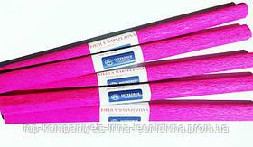 Папір крепований INTERDRUK (50см*200см), рожевий №12 (10шт/уп)