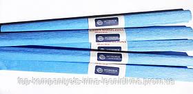 Папір крепований INTERDRUK (50см*200см), св.-блакитний №18 (10шт/уп)