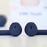 Беспроводные bluetooth-наушники V99-Touch с кейсом, темно-синий, navy blue, фото 6