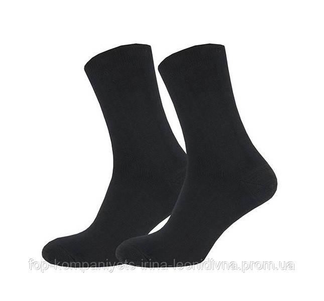 Шкарпетки чоловічі ТОП-ТАП класичні LS чорний 27-29р 42-44 (М-119)