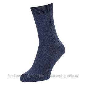 Носки мужские ТОП-ТАП классические джинсовый 29р 43-44 (М-101)