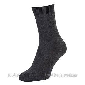 Носки мужские ТОП-ТАП классические темно-серый 27р 41-42 (М-101)