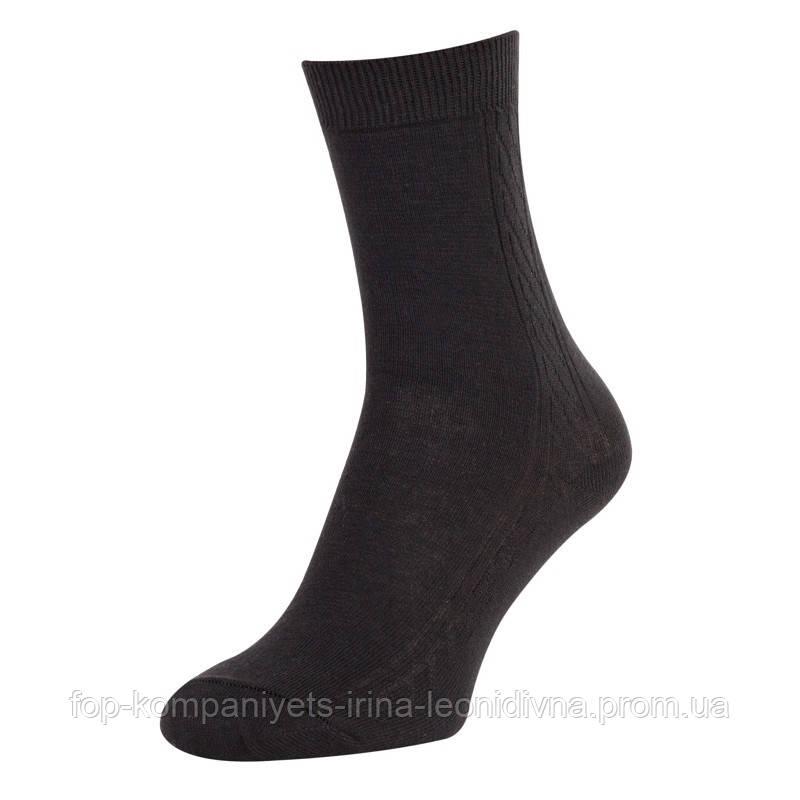 Шкарпетки чоловічі ТОП-ТАП класичні чорний 27р 41-42 (М-101)