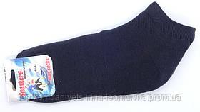 Носки мужские ТОП-ТАП сникерсы короткие темно-серый 29-31р 44-46 (М-122)