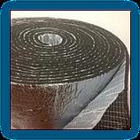 Вспененный каучук фольгированный самоклеющийся