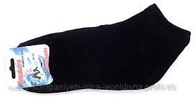 Носки мужские ТОП-ТАП сникерсы короткие черный 29-31р 44-46 (М-122)