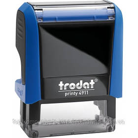 Штамп стандартний TRODAT згідно з оригіналом 38х14мм синій (4911 Р4)