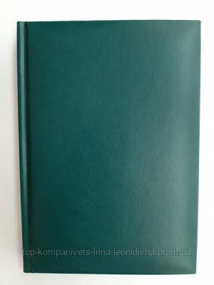 Ежедневник недатированный АРКУШ Light, светло-зеленый, линия
