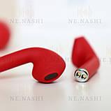 Навушники безпровідні i12. Червоні, фото 9