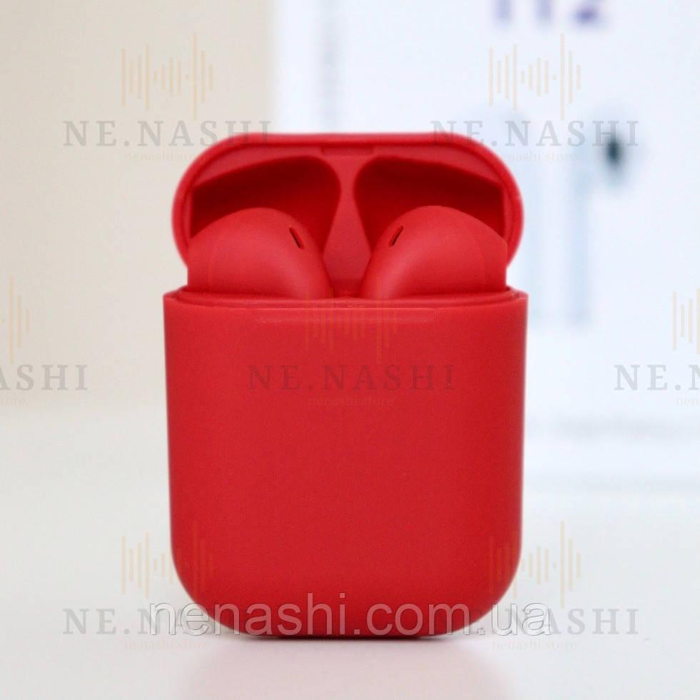 Навушники безпровідні i12. Червоні