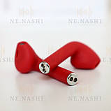 Навушники безпровідні i12. Червоні, фото 6