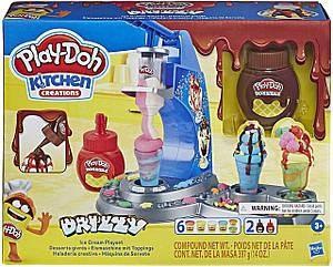 Игровой набор Мороженое с глазурью Play-Doh Kitchen Creations Drizzy Ice Cream Playset E6688