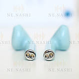 Навушники безпровідні i12. Блакитні, фото 9