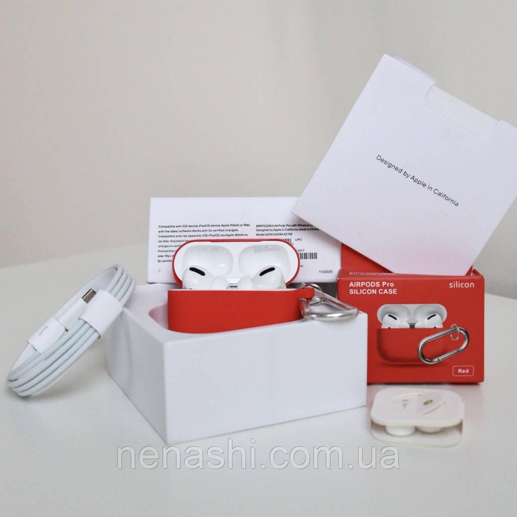 Наушники AirPods Pro чип Airoha 1562a Lux с шумоподавлением. Белые