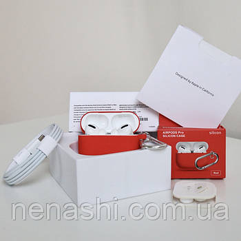 Навушники AirPods Pro чіп Airoha 1562a Lux з шумозаглушенням. Білі