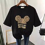 Модная футболка женская с принтом, фото 2