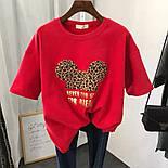Модная футболка женская с принтом, фото 3