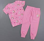 Піжама для дівчаток Setty Koop, 4-12 років. Артикул: FR1078-рожевий