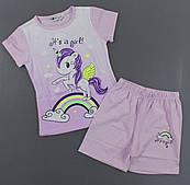 Піжама для дівчаток Setty Koop, 1-5 років. Артикул: PJM112-ліловий